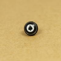 Titanium male spade no pierced earrings earring magnet stud earring magnetic