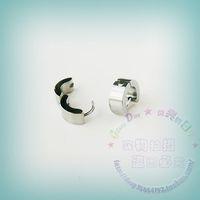 Small 4mm titanium ear buckle titanium stud earring medical steel earclip