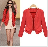 High quality  NEW Slim Fit Jackets women's jacket woman Stylish Small suit for women short Outerwear ladies clothing
