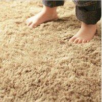 CA10701 mat Japanese style Carpet khaki color 100*140cm 3cm hair length 1piece/lot soft mat rug anti-slip handmade floor carpet