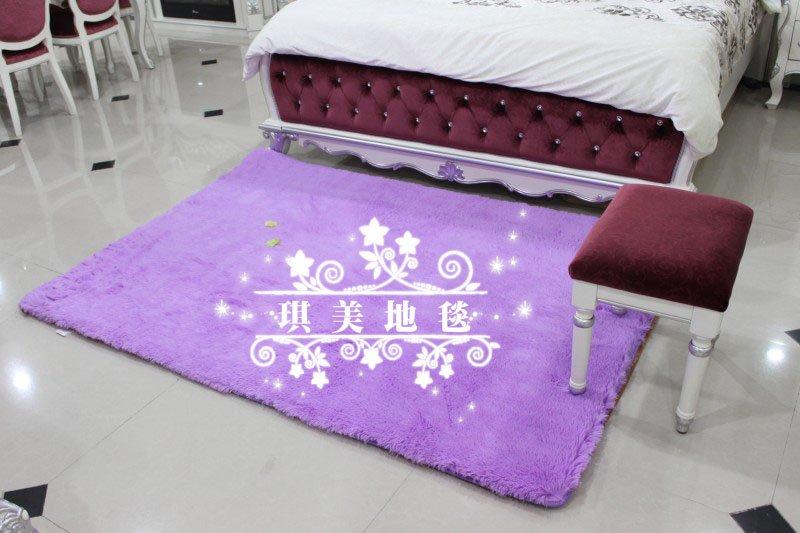 CA10706 mat estilo japonês Tapete cor roxa 100 * 140 centímetros três centímetros do cabelo comprimento 1piece / lot tapete macio tapete anti -derrapante piso tapetes artesanais(China (Mainland))