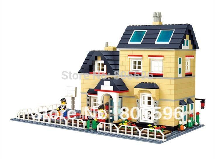 34052 without original box Enlighten Building Block Set Construction Brick Toys Educational Block for children compatible(China (Mainland))