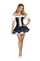Hot selling New Arrival  Free shipping Deluxe German Beer Girl Costumes