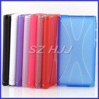 New arrival Multi Color X Line Soft TPU Gel Skin Cover Case for Apple iPod Nano 7 7th 7 Gen Nano7