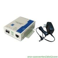 1-port SFP Slot 10/100/1000M Gigabit Ethernet Media Converter