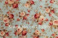 Free shipping New Arrival cotton fabric for DIY Noble peony garden of the feast 150*50cm blue perfect for patchwork NO.:FC36
