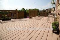 2012 Outdoor Europe Standard wood plastic composite decking/ wpc floor