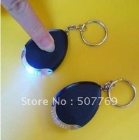 Whistle induction finder keychain anti-lost alarm key troika