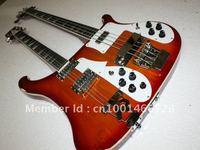 best Double Neck 4003  4  12 Strings Ebony Fretboard Electric Guitar bass electric guitar #001