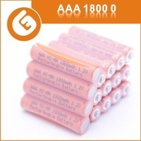 good quality Ni-MH1800mAh AAA 1.2V rechargeable batteries/Cells for toy remote control digital devices