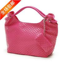 New 2014 Knitted fashion shoulder elegant fashion lades handbag pu leather popular summer women's Designer  HOT Sale AR006 Q9