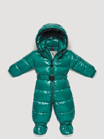 2012 children's clothing male down coat green one piece romper set