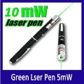Promotion !!! Green Laser Pointer Pen 10mW  Laser Pen 532nm Free Shipping