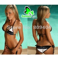 Free Shipping Sunlun Ladies' Sexy Three-point Bikini Sexy Swimwear