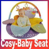 In stock purple sheep ELC Blossom Farm Sit Me Up Cosy-Baby Seat Play MatPlay Nest Sofa Baby game pad rita yib's Free Shipping