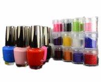 5 pcs Nail Art Velvet Manicure Flock Powder for Soft Velvet Nail Polish Fashion Decoration Free Shipping
