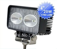 Rectangle Led Work Light 20W CEEE LED in Excellent Performance