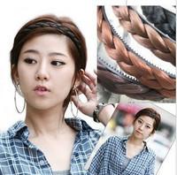 E6058 queer accessories wig braid twist bianzi tress headband