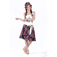 New Summer bust  skirts medium  cotton linen  bohemia short  Skirt Free Shipping