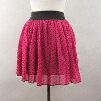 New 2013 all-match chiffon short skirt bust skirt puff skirt basic skirt Free Shipping