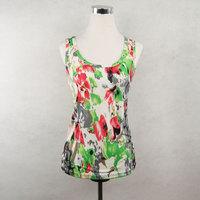 New High-elastic vest female basic slim women's vest female summer women's Free Shipping