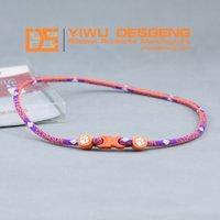 New Design Clemson Ncaa Titanium Silicone Necklace