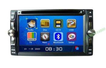 6.2 universal indash auto dvd player with gps DVB-T