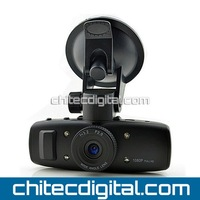 Car Black Box with 1080P Built-in G-logger ,G-Sensor,120 Degree Wide-Angle, Motion Detection