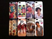 Wholesale 10pcs New One Direction 1D hard back case cover skin for iphone 5 5S 5G 5TH free shipping