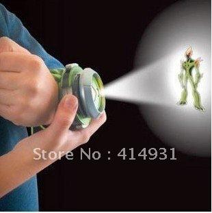 RETAIL 2012 New Fashion child TOY Japan BAN DAI Genuine /ben 10 watch/ben10 projector medium