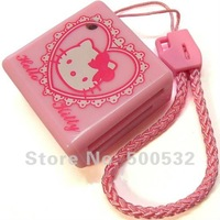 Free shipping, Hello Kitty USB Card reader Catoon micro sd card reader Plastic tf card reader, 20 pcs/lot, Random  delivery