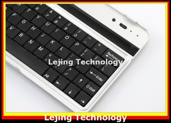 DHL Fedex Free shipping New Arrival Wireless Bluetooth Aluminum Keyboard For Google ASUS NEXUS 7 20pcs/lot bluetooth 3.0