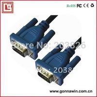 Free shipping VGA Cable/ VGA TO VGA Cable