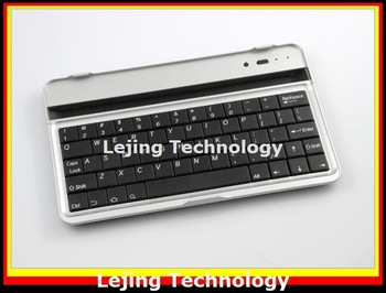 DHL Fedex Free shipping New Arrival Wireless Bluetooth Aluminum Keyboard For Google ASUS NEXUS 7 100pcs/lot bluetooth 3.0