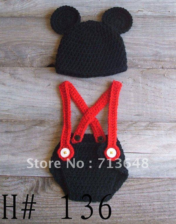 Mickey Mouse Del Bebé Del Sombrero - Compra lotes baratos de ...