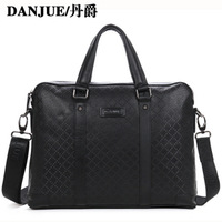 Cowhide handbag laptop bag briefcase business bag cowhide male bags 90080 - 3