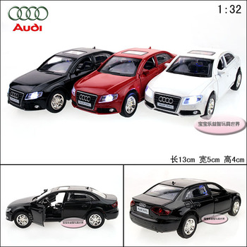 AUDI a4 l exquisite alloy cool acoustooptical two open door alloy car model