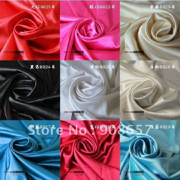 4metres/1lot.Simulation silk satin Fabric imitated silk fabric Breadth:150cm.Cheongsam /Garment/Dress/Wedding supply/Others(China (Mainland))
