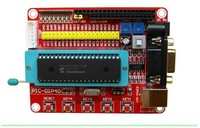 Free shipping!!! Brand-New PIC16F877A  PIC Develop Board PIC programmer  Small systerm + USB Cable
