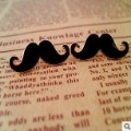 New arrival !! Vintage Mustache Beard stud earring .60pair /lot . Free shipping