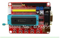 Free shipping!!! 5PCS/LOT Brand-New PIC16F877A  PIC Develop Board PIC programmer  Small systerm + USB Cable