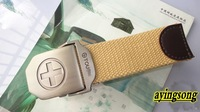 Canvas SAND Tactical sling ! carved military webbing belt  mens stock ,free shipping.