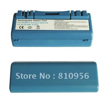 10pcs* FEDEX shipping Battery For iRobot Scooba 4.0Ah Ni-MH Heavy Duty Sydney 5900 330 340 380 6000