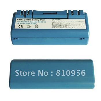 10pcs* FEDEX shipping Battery For iRobot Scooba 4.0Ah Ni-MH Heavy Duty Sydney 5900 330 340 380 6000