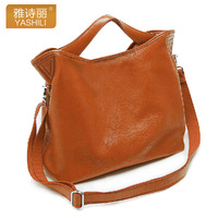 FREE SHIPPING 2012 genuine leather women's handbag first layer of cowhide handbag cross-body one shoulder women's handbag 8024