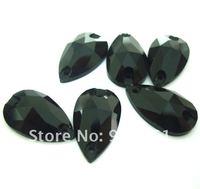 Free shipping(36pcs/lot)Novelty dress accesorry PEAR shape w-3230 Sew On stone Flat Back rhinestone 17*28mm