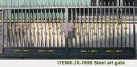 Manual sliding gate / automatic sliding gate / sliding gate motor with remote controller