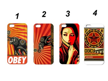 Unique  Popular Designs!!10pcs fashionable obey  Hard Case Skin for iPhone 5 5G case free shipping