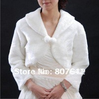 Free shipping Beige long sleeves short style 5pcs/lot wedding jackets bridal shawls shoulder width for 40cm Sky-S027