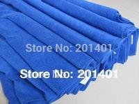 50*100cm Free Shipping,Blue Absorbent Soft Terry Microfiber Car Wash Towel 10pcs/lots